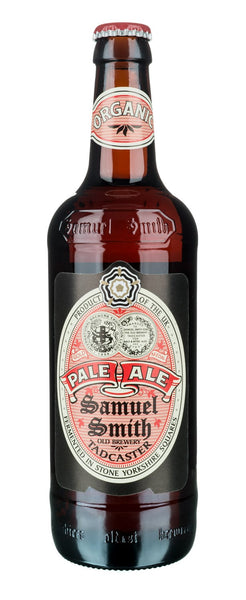 24pk-Samuel Smith's Organic Pale Ale Beer, England (12oz)