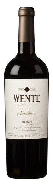 2016 Wente Vineyards Sandstone Merlot, Arroyo Seco, USA (750ml)