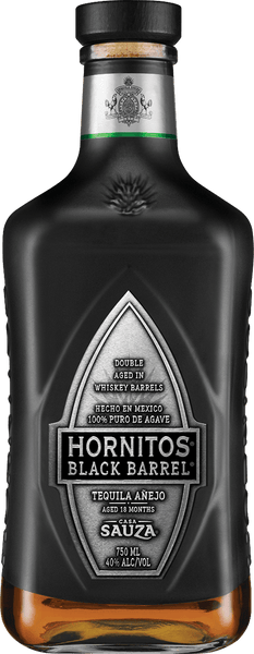 Casa Sauza Hornitos Black Barrel Tequila Anejo, Mexico (750ml)