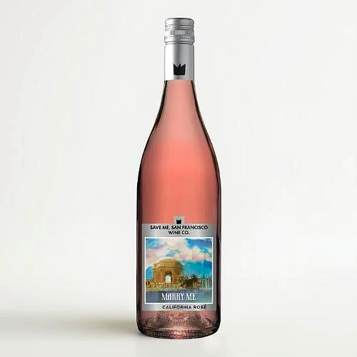 2015 Save Me San Francisco Wine Co. 'Marry Me' Rose, California, USA  (750ml)