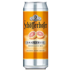 (24pk cans)-Schofferhofer Grapefruit Hefeweizen Beer, Germany (330ml)