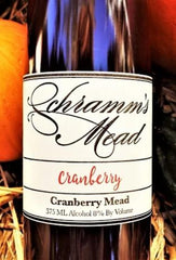 Schramm's Cranberry Mead, Michigan, USA (375ml) HALF BOTTLE