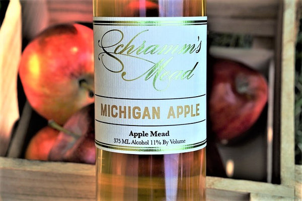 Schramm's Michigan Apple Mead, Michigan, USA (375ml) HALF BOTTLE