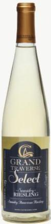 NV Chateau Grand Traverse Select Semidry Riesling, Michigan, USA (750ml)
