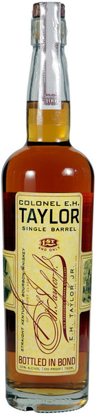Colonel E.H. Taylor Single Barrel Straight Kentucky Bourbon Whiskey, Kentucky, USA (750ml)