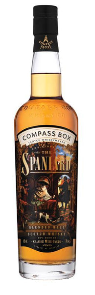 Compass Box 'The Story of the Spaniard' Blended Malt Scotch Whisky, Scotland (750ml)