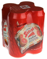 (4pk cans)-Stiegl Grapefruit Radler Beer, Germany (500ml)