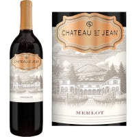 2014 Chateau St Jean Merlot, Sonoma County, USA (750ml)