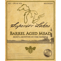 Superior Lakes Barrel Aged Mead, Michigan, USA (750ml)