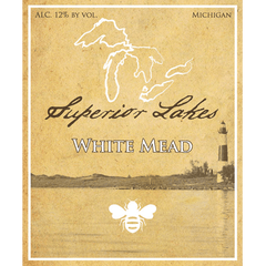 Superior Lakes White Mead, Michigna, USA (750ml)