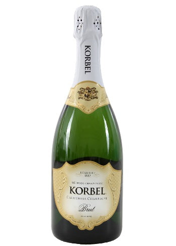 NV Korbel Cellars California Champagne Brut, USA (750ml)