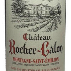 2012 Chateau Rocher-Calon, Montagne-Saint-Emilion, France (750ml)