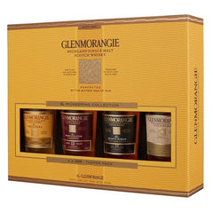 Glenmorangie The Pioneering Collection Taster Pack Single Malt Scotch Whisky, Highlands, Scotland  (4 x 100ml)