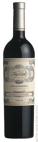 2012 Terra Noble Gran Reserva Carmenere, Colchagua Valley, Chile (750ml)