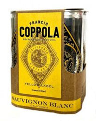 Francis Ford Coppola Diamond Collection Sauvignon Blanc Cans (case, 6 x 4pk 250ml cans)