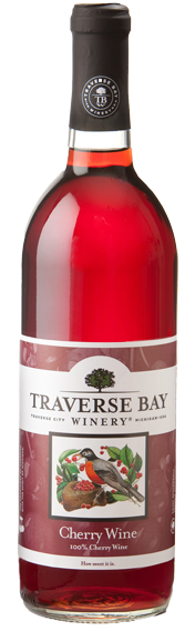 NV Chateau Grand Traverse - Traverses Bay Winery Cherry Wine, Michigan, USA (750ml)