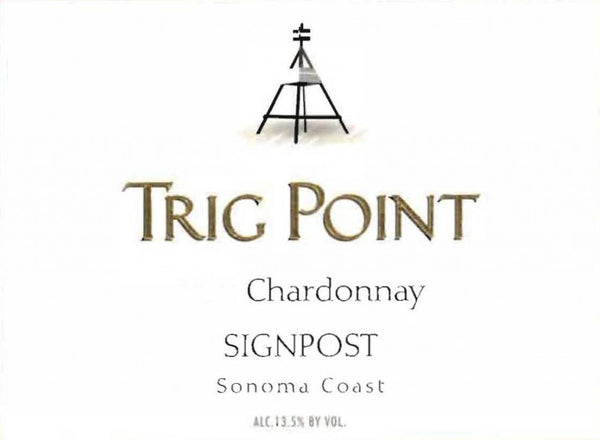 2014 Sign Post Trig Point Chardonnay, Sonoma Coast, USA (750ml)