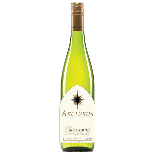 Black Star Farms Arcturos Pinot Gris, Old Mission Peninsula, USA (750ml)