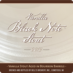 2019 Bell's Vanilla Black Note Stout Beer, Michigan, USA (12oz)