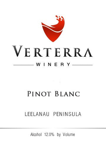2017 Verterra Winery Pinot Blanc, Leelanau Peninsula, USA (750ml)