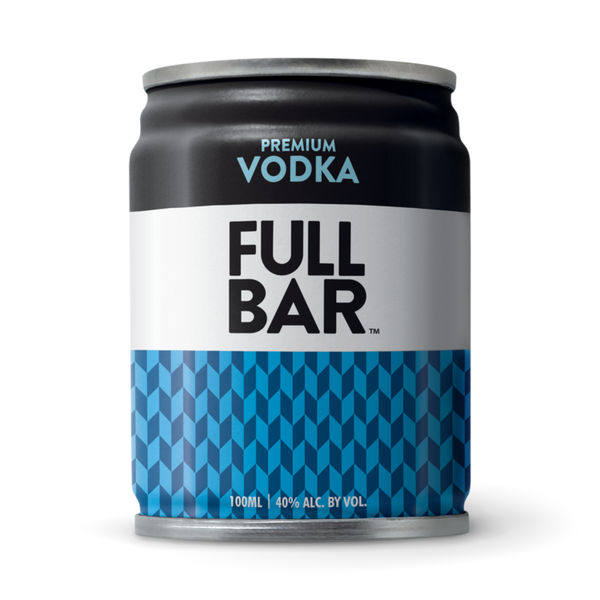 FULLBAR Premium Vodka, USA (6 cans X 100ml)