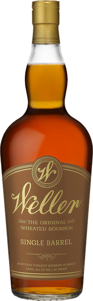 W. L. Weller Single Barrel Straight Wheated Bourbon Whiskey, Kentucky, USA (750ml)