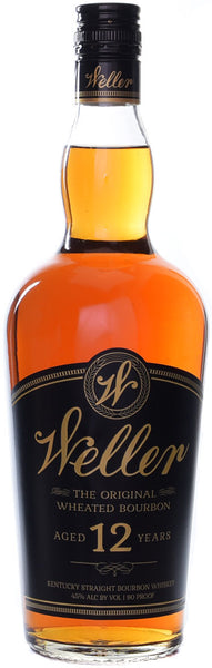 W. L. Weller 12 Year Old Kentucky Straight Wheated Bourbon Whiskey, USA (750ml)