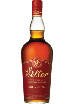 Old Weller Antique Original 107 Brand Kentucky Straight Wheated Bourbon Whiskey, USA (750ml)