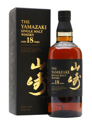 The Yamazaki 18 Year Old Single Malt Whisky, Japan (750ml)
