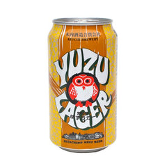(24pk cans)-Hitachino Nest Yuzu Lager Beer, Japan (330ml)