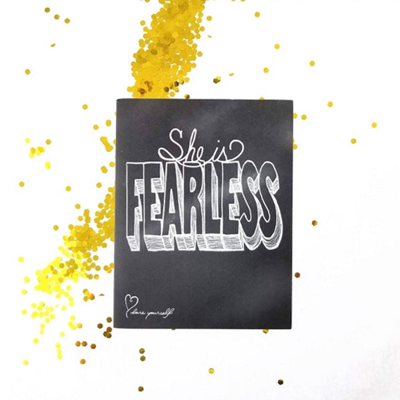 She is Fearless. Five ways to help someone overcome fear and take more risks