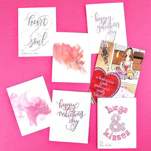 Valentine and Galentine Cards