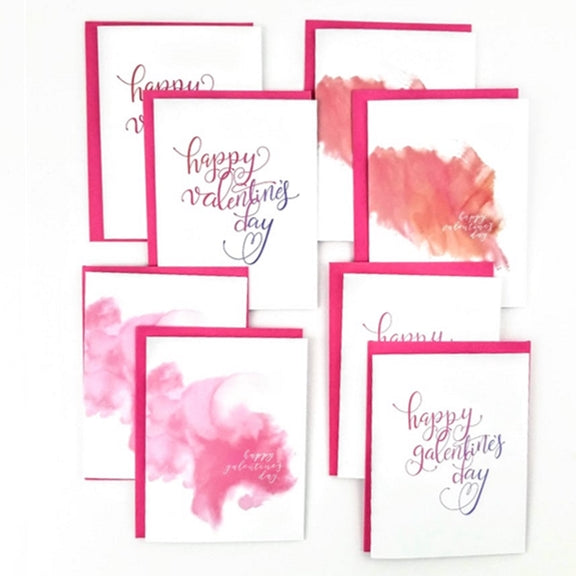 Valentine and Galentine boxed set of cards