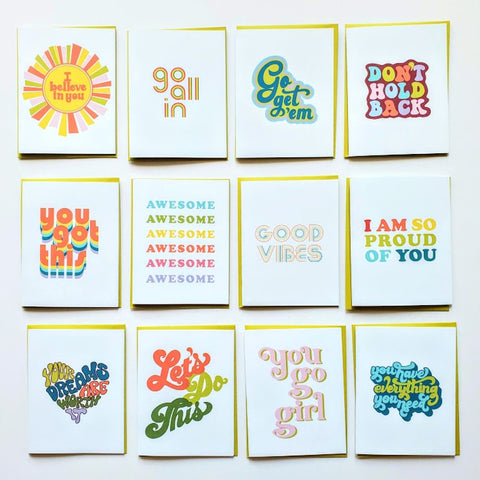 Good Vibes Greeting Card Collection