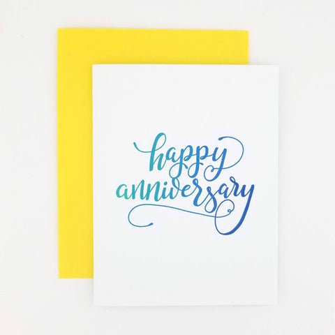 Happy Mail Calligraphy Anniversary