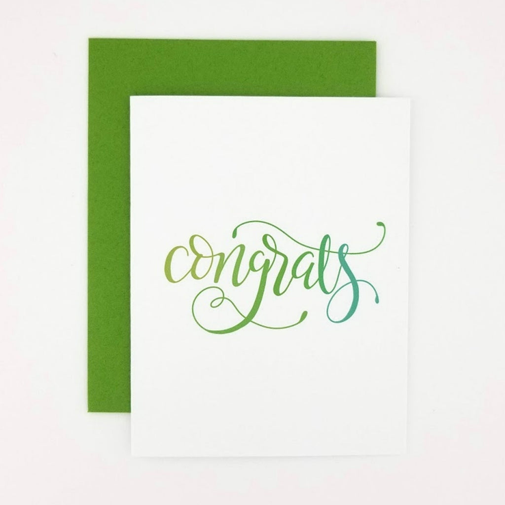 Happy Mail Calligraphy Congratulations