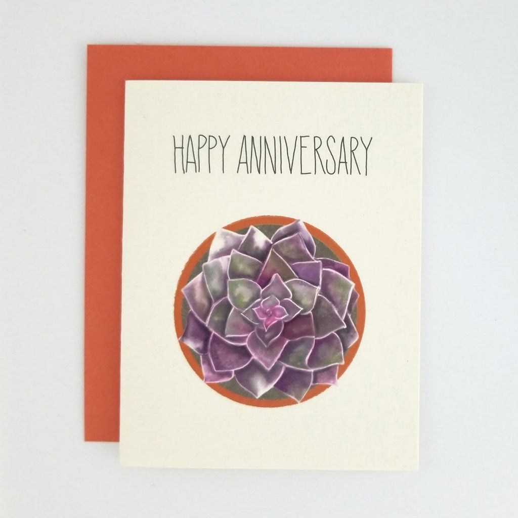 Happy Mail Succulent Anniversary