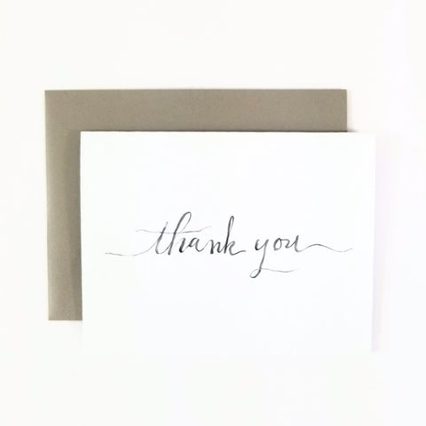 Happy Mail Script Thank You Note Card