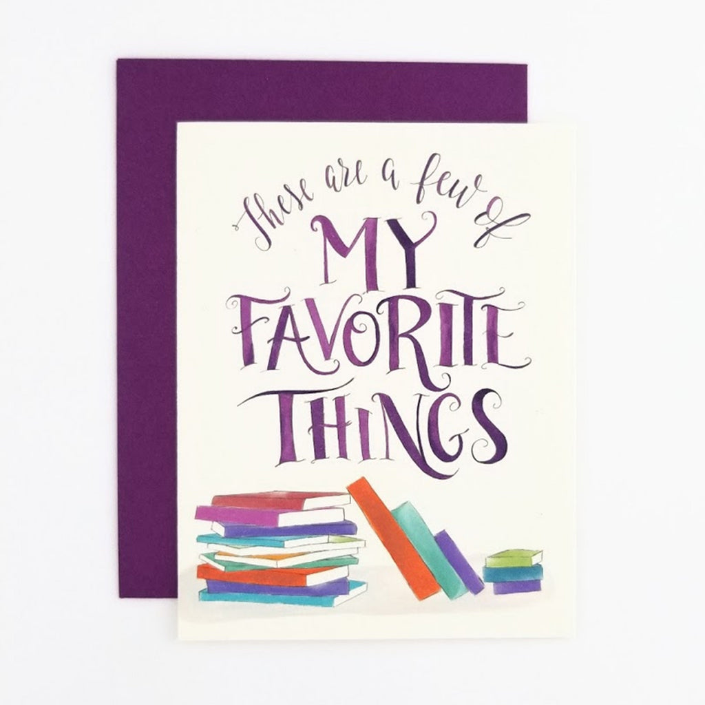 My Favorite Things Books