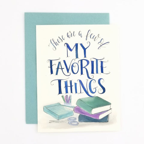 My Favorite Things Scrapbook
