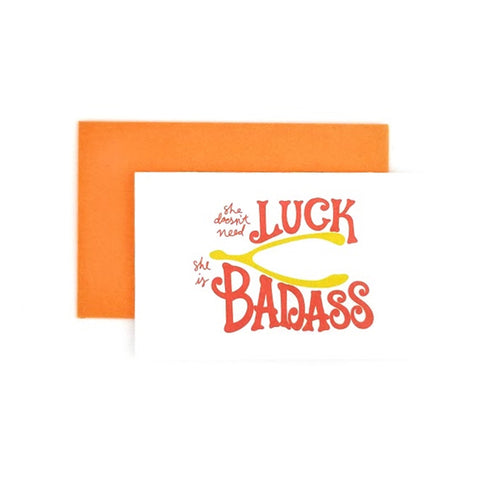 Badass Pitter Patter Luck (10 pack)