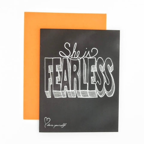 She is . . . Fearless