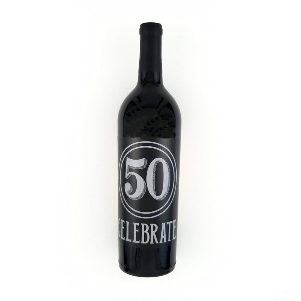 Celebrate 40 Wine Label