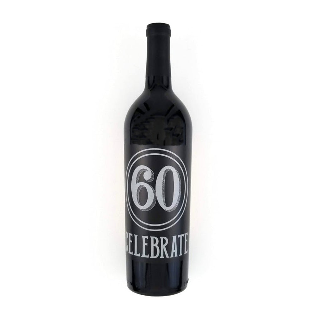 Celebrate 60 Wine Label
