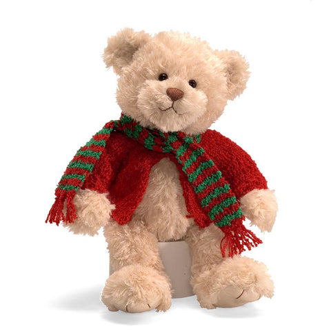 "Gund Plush Rosie Holiday Teddy Bear 10"" #320863"