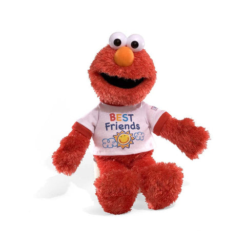 "GUND Sesame Street Plush, Talking, Elmo's Best Friend 14"" #320072"