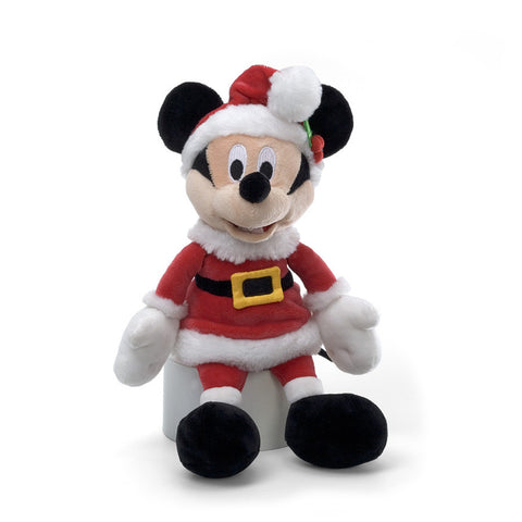 "GUND Disney Plush Christmas Mickey Mouse - 11"" #320389"