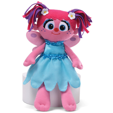 "Gund Sesame Street Abby Cadabby Take Along Buddy 12"" #320723"