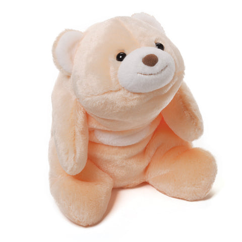 "Gund Snuffles Plush Polar Bear Peach 10"" #4040143"