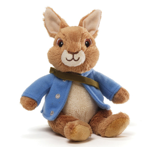 "Gund Plush Peter Rabbit Beanbag 5"" #4042614"